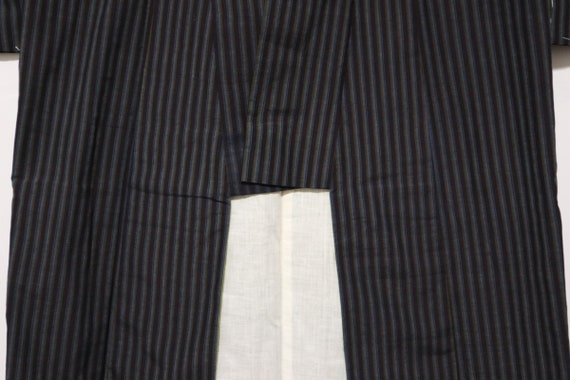 Bande de japonais Vintage KIMONO kimono en coton boro / kimono boro coton noragi e9d28a