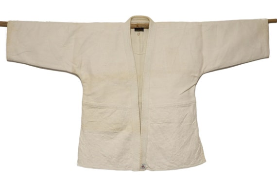 JUDO jacket Vintage Japanese SASHIKO jacket / boro