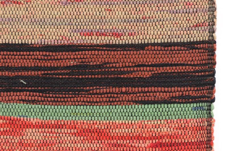 SAKIORI OBI Japanese Vintage hand woven Fabric  384x13cm