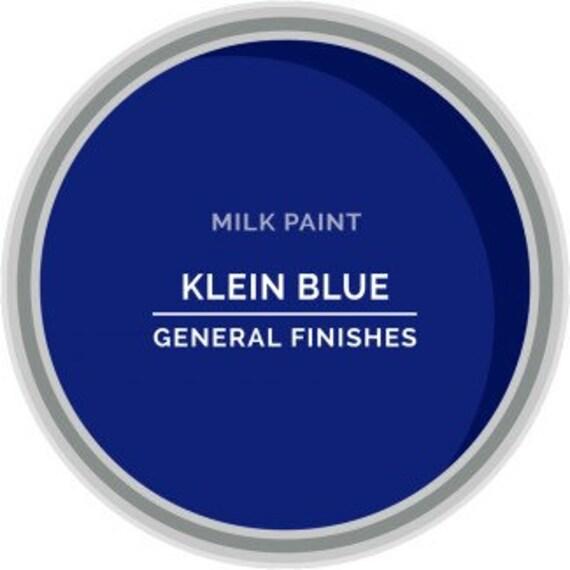 Peinture Au Lait Bleu Klein De General Finishes Pint