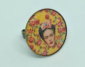 Frida Kahlo Amarillo ring