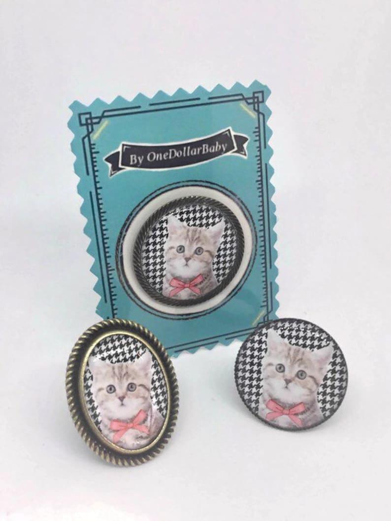 Earrings Kitten