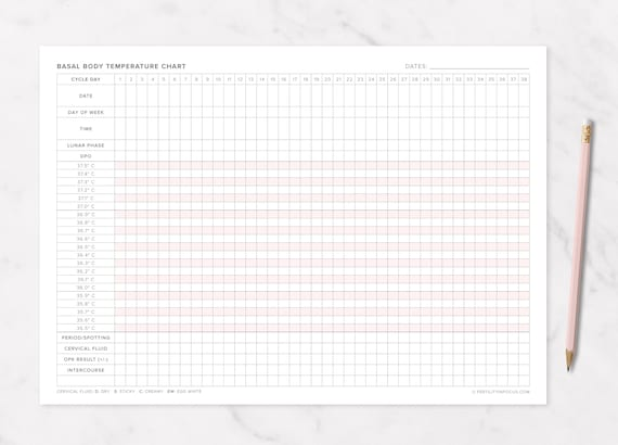 It's just a graphic of Basal Body Temperature Chart Printable regarding downloadable