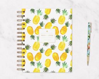 The 2021 — 2022 IVF Planner: Pineapple   IVF Journal, Ivf Diary, Iui Planner, Iui Journal, TTC Planner, Ttc Journal