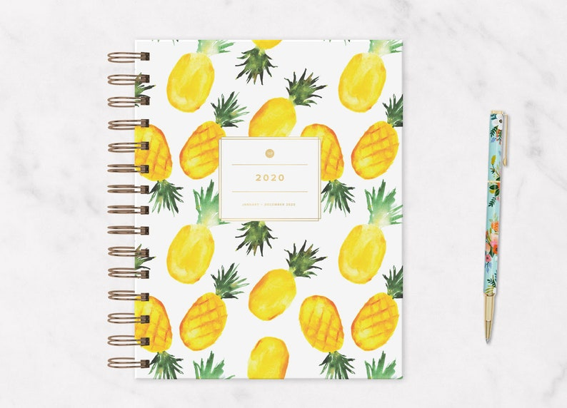 The 2020 IVF Planner: Pineapple IVF Journal Ivf Diary Iui image 0