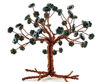 Daisies Wire Tree, One of a Kind, Home Decoration, Decoration for Living Room, Decoration for Bedroom and Bookshelves, 2018