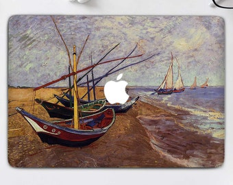 """2018//17 MacBook Pro 13/"""" Van Gogh Painting  Case Cover A1989// A1708 A1706"""