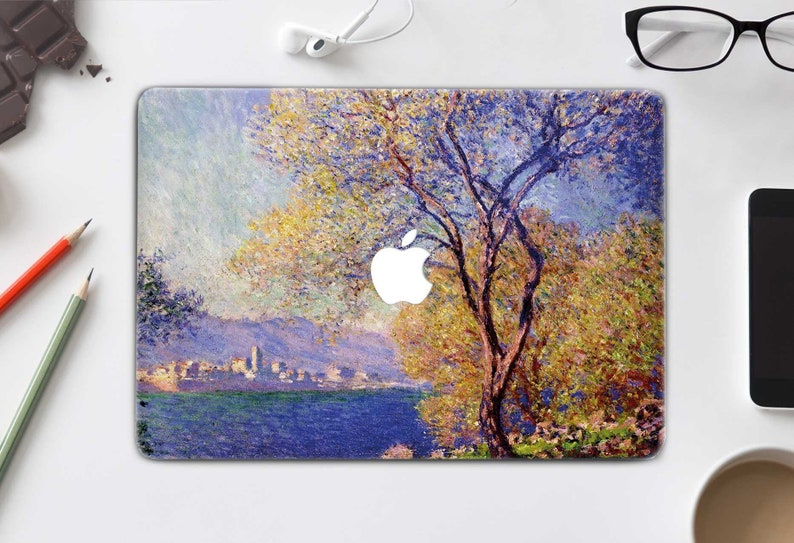 42eca66cfbce Monet Macbook Air 13 inch Cover MacBook Decal Antibes Art Macbook Pro 13  Skin Mac Sticker Laptop Decal Macbook Pro 15 2017 Cover CHA5003