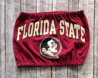 1dbedc27ac5a2 Florida State Seminoles T-Shirt Tube Top   Tailgate Clothing   Game Day Top    College Clothing   FSU   Florida Gift   Graduation Gift