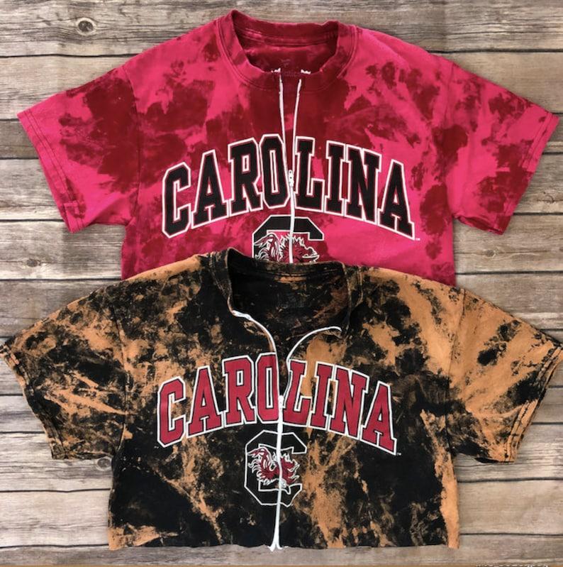 reputable site d08e1 c6826 University of South Carolina Zipper Tee / USC Gamecocks / USC Gift /  Gamecocks Gift / College Shirt Women / College Gift / Gameday Shirt