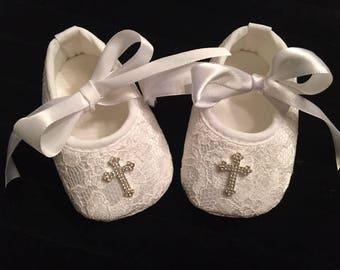 Baptism Shoes Etsy