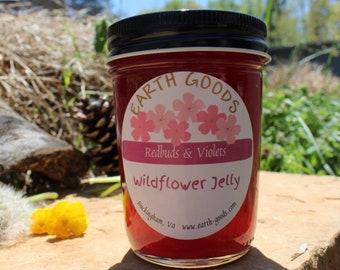 Gourmet Jelly - Wildharvested Redbuds & Violets
