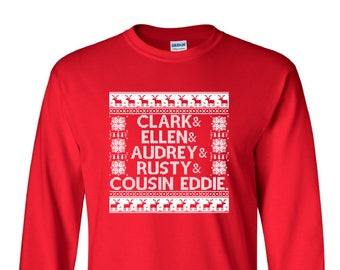 National Lampoon's Christmas Vacation Ugly Sweater Long Sleeve