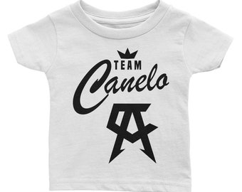 489c699f5aece8 Team Canelo Saul Alvarez Mexican Grand Champion boxing t-shirt for the avid  boxing fan ready for fight vs GGG. Infant Tee