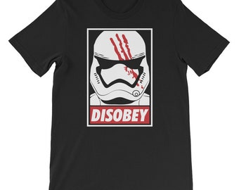 b0b63ecd5 Star Wars Darth Vader Storm Trooper Disobey Shirt. The Force is awaken Tee  for Star wars fans.