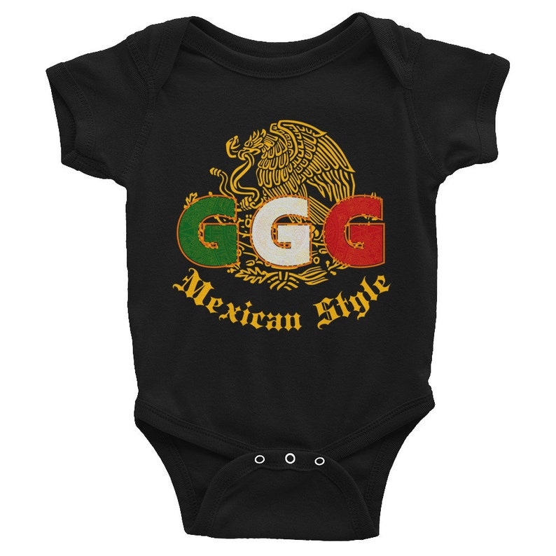 9dcb6119447a GGG Mexican Style Gennady Golovkin Triple G fight shirt for