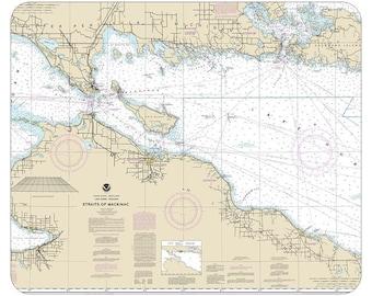 Straits of Mackninac Mouse Pad