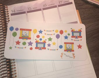 Birthday Stickers. Perfect for any planner!