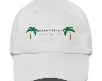 Delray Beach Dad Hat (strapback)