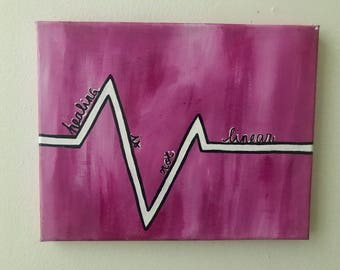 """Caring Canvas - """"Healing is Not Linear"""""""