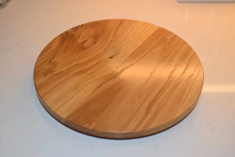 Wood Lazy Susan Turntable   Made To Order Wooden Lazy Susan