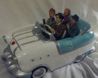 Vintage I Love Lucy Cookie Car Jar, First Edition, #2374 of 10,000. Inspired by the 1955 Pontiac convertible, All Characters
