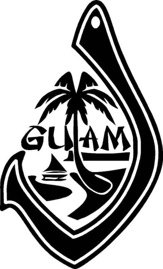 Items Similar To Guam Seal On Etsy