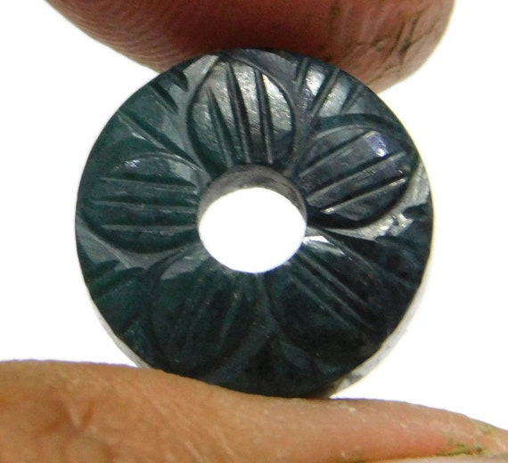 AAA Natural Peach Moonstone Donut Beads Round Beads Round Big Hole Beads Circle Round Spacer Beads Handmade Beads 2 Piece 12mm-25mm