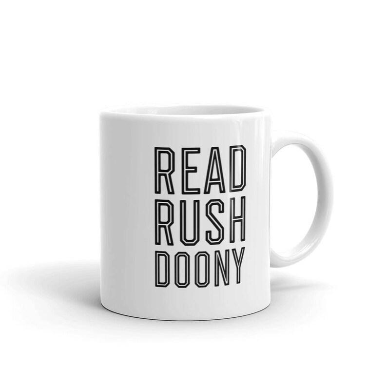 Read Rushdoony Reformed Calvinism Reconstruction Coffee Mug image 0