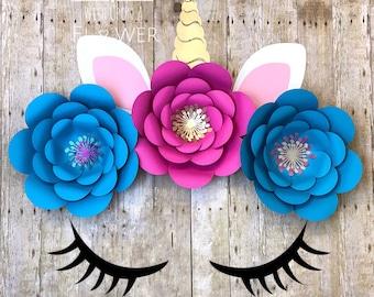 unicorn eyelash template 3 unicorn lashes unicorn svg etsy