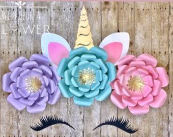 Unicorn, Flower DIY, Unicorn Birthday, Unicorn Party, Unicorn Backdrop, Unicorn Decorations, Unicorn Baby Shower Decorations, Backdrop