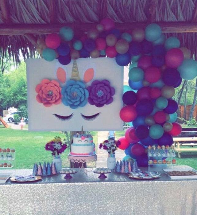 Unicorn Decorations, Unicorn Party, Unicorn Backdrop