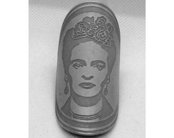 Frida Bike Frame Badge (Aluminium)
