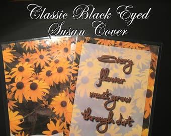 Black Eyed Susan Flower Planner Cover