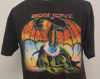 1995 Bon Jovi Tour Shirt - Size XL 61a362a6b1c1