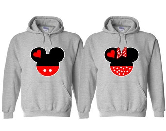 Matching Couple Hoodies, Matching Clothes for Couples, Gifts for Couples, Matching Cute Couple Shirts