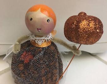 Unique clothespin doll