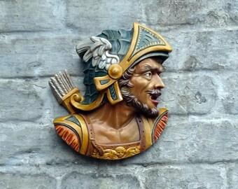 Conquistador, Сonqueror Bas relief