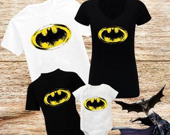 22725932 Batman Shirt Batman Custom Shirt Batman Family Shirt