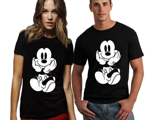 Disney T Shirt Mickey Mouse Damen und Herren Shirt Mickey Mause Shirt Mickey Mause Tank Tops