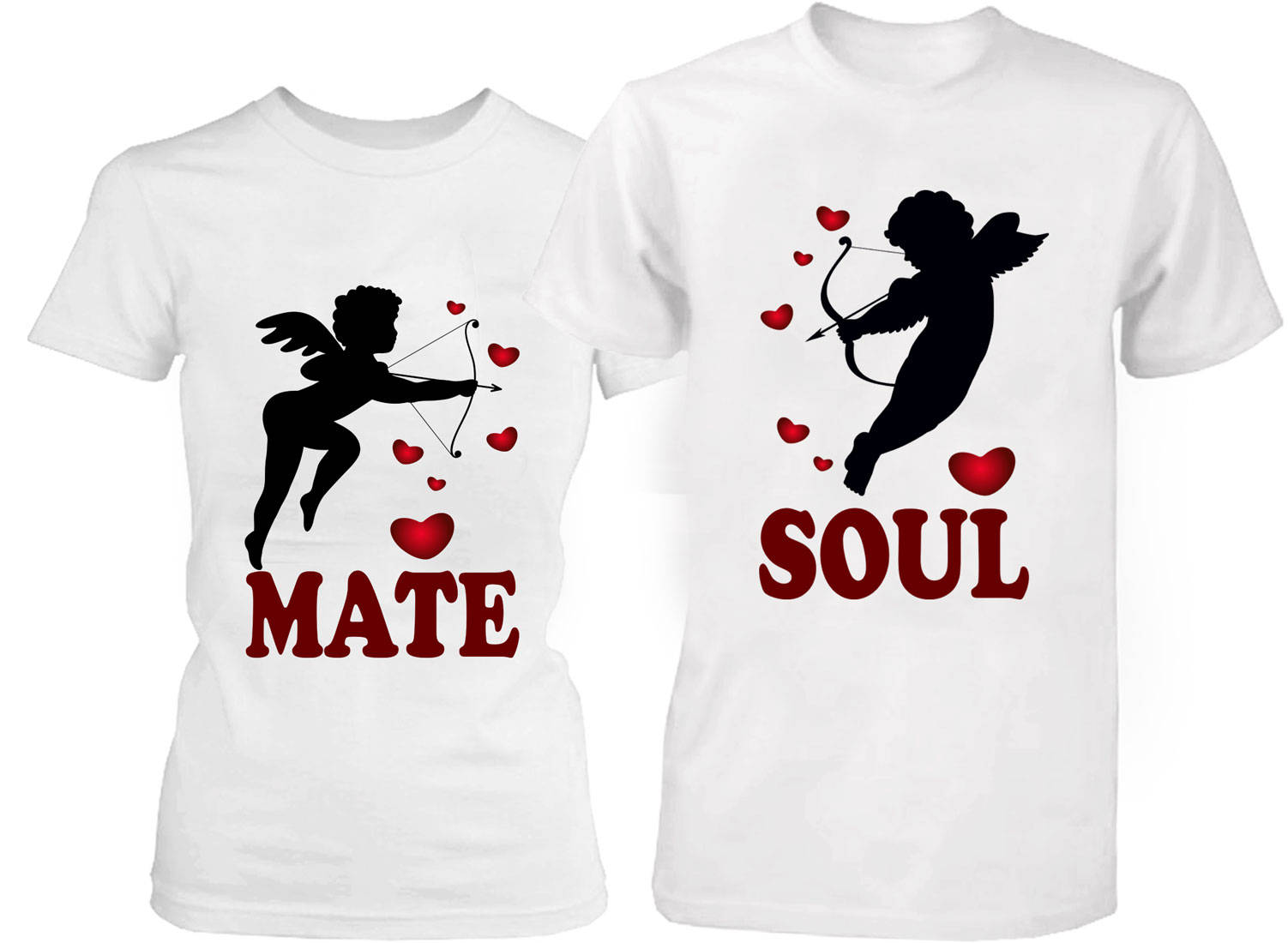 Couple Shirts Soul Mate Shirt Valentine's Day Shirts Love ...