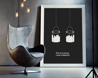 Home Alone - Minimal Movie Poster - Movie Print - Film Poster