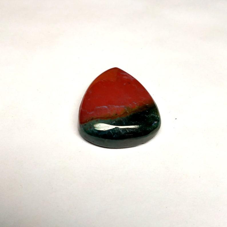 30x24x8 MM,AAA Quality Blood Jasper Gemstone Bloodstone Jasper Pear  Cabochon Natural Blood Stone Designer Cabochon Size 45 Cts.