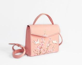 Kristine Small Leather Bag