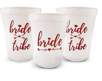 rose gold bachelorette party cups12 bridebride tribe cups w12 bride tribe tattoos bridal shower cups team bride cupsbridesmaids