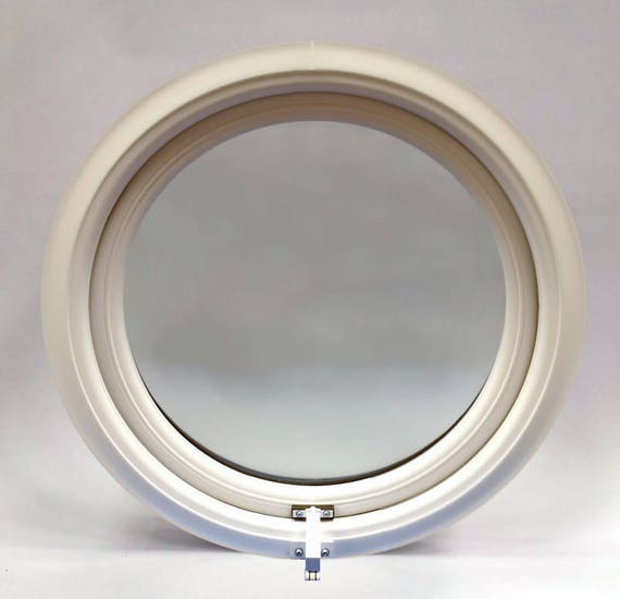 new products 0ca5a 020b2 uPVC PVC Round Window - Clear Double Glazed - Full Opening