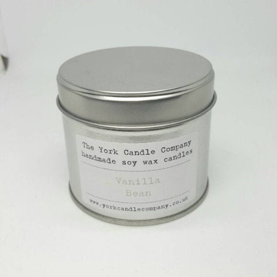 Vegan Gift - Candle - Vanilla Candle - Gift Idea - Soy Candle - The York  Candle Company