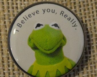 Tea-Drinking Kermit Decal