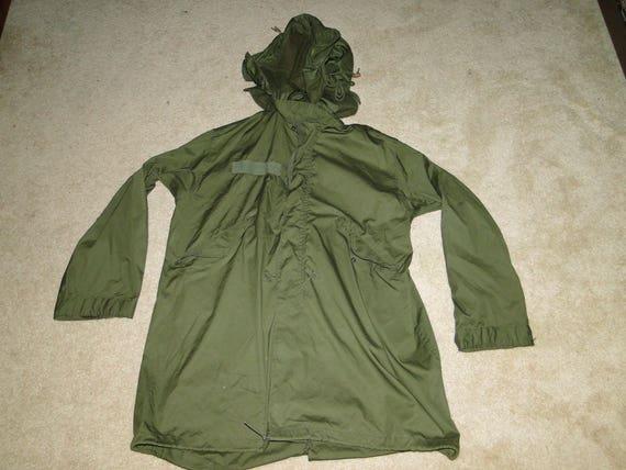 VINTAGE US Militar Fishtail Parka Desert Jacket Mod M65 Sz M