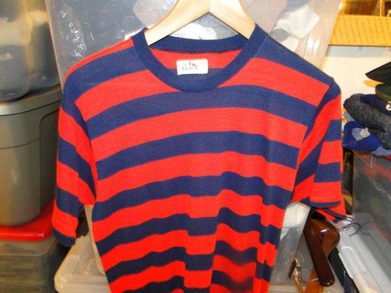 Vintage Original 1960's Bold Striped T-shirt Rocka